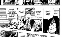Naruto Manga 563: La reunion De Los 5 Kages