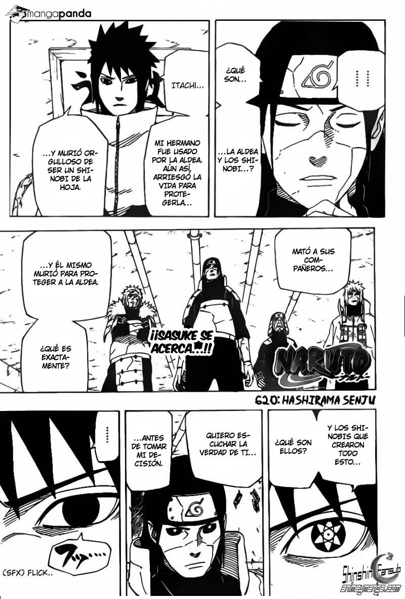 Naruto Manga 620: Hashirama Senju